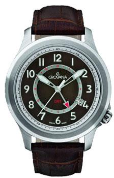Швейцарские наручные мужские часы Grovana 1632.1536. Коллекция Sporty