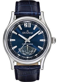 Швейцарские наручные  мужские часы Grovana 1733.1535. Коллекци Chrono