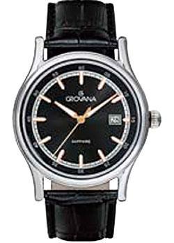 Швейцарские наручные мужские часы Grovana 1734.1524. Коллекция Contemporary фото