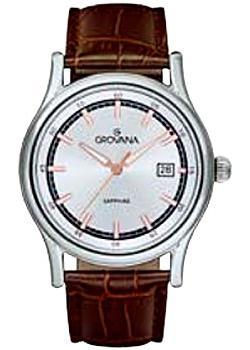 Швейцарские наручные мужские часы Grovana 1734.1528. Коллекция Contemporary
