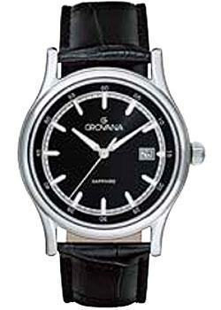 Швейцарские наручные мужские часы Grovana 1734.1537. Коллекция Contemporary