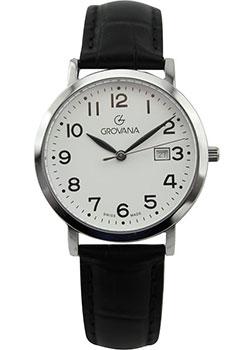 Швейцарские наручные  женские часы Grovana 3230.1538. Коллекция Traditional