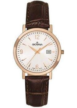 Швейцарские наручные  женские часы Grovana 3230.1562. Коллекция Traditional