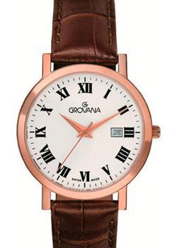 Швейцарские наручные  женские часы Grovana 3230.1563. Коллекция Traditional