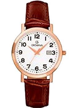 Швейцарские наручные  женские часы Grovana 3230.1568. Коллекция Traditional