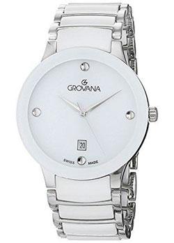 Швейцарские наручные  женские часы Grovana 4021.1183. Коллекция Ceramic