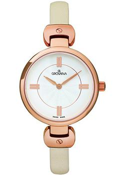 Швейцарские наручные  женские часы Grovana 4481.1562. Коллекция Sporty