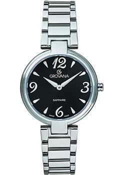 Швейцарские наручные  женские часы Grovana 4556.1137. Коллекция DressLine