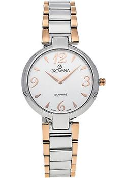 Швейцарские наручные  женские часы Grovana 4556.1152. Коллекция DressLine