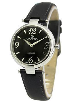 Швейцарские наручные  женские часы Grovana 4556.1537. Коллекция DressLine