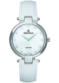 Швейцарские наручные  женские часы Grovana 4556.1538. Коллекция DressLine