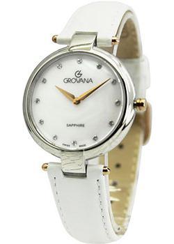 Швейцарские наручные  женские часы Grovana 4556.1558. Коллекция DressLine