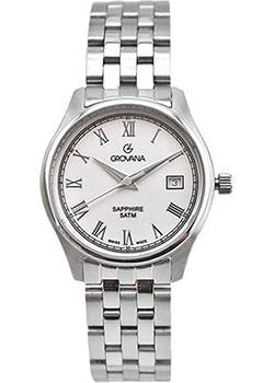Швейцарские наручные  женские часы Grovana 5568.1232. Коллекция Traditional