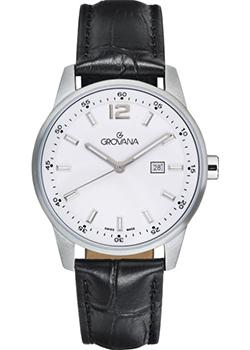 Швейцарские наручные  женские часы Grovana 7715.1533. Коллекция Sporty