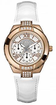 fashion наручные женские часы Guess W11566L1. Коллекция Sport steel