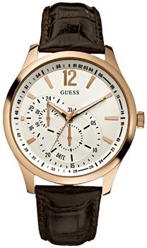fashion наручные мужские часы Guess W95086G2. Коллекция Dress steel