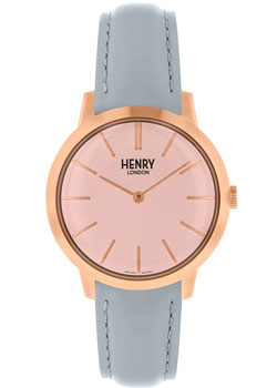 fashion наручные  женские часы Henry London HL34-S-0228. Коллекция Iconic
