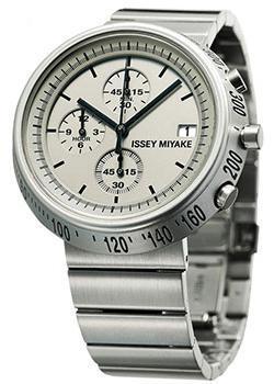 Японские наручные мужские часы Issey Miyake SILAZ002. Коллекция Trapezoid