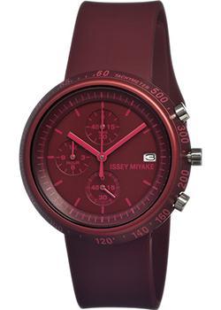 Японские наручные мужские часы Issey Miyake SILAZ007. Коллекция Trapezoid