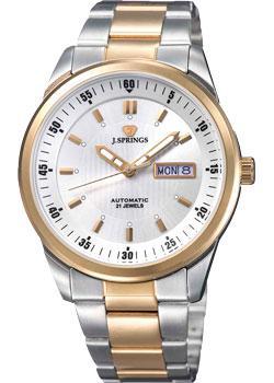 Японские наручные мужские часы J. Springs BEB583S. Коллекция Automatic