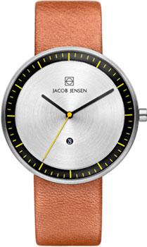 мужские часы Jacob Jensen JJ271. Коллекция Strata