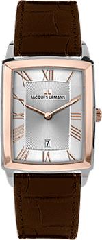 fashion наручные мужские часы Jacques Lemans 1-1607D. Коллекция Bienne