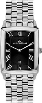 fashion наручные мужские часы Jacques Lemans 1-1607F. Коллекция Bienne