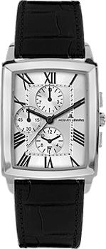 fashion наручные мужские часы Jacques Lemans 1-1609B. Коллекция Bienne