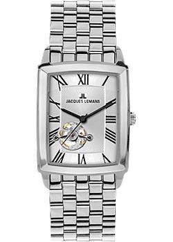 fashion наручные мужские часы Jacques Lemans 1-1610G. Коллекция Bienne