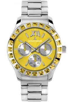 fashion наручные  женские часы Jacques Lemans 1-1627ZE. Коллекция Rome Sports