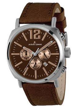 fashion наручные  мужские часы Jacques Lemans 1-1645G. Коллекция Lugano.