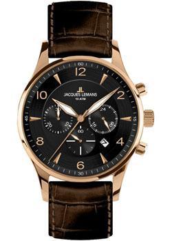fashion наручные  мужские часы Jacques Lemans 1-1654G. Коллекция London