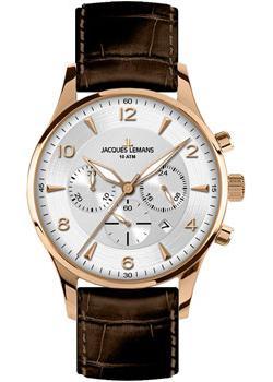 Купить Fashion наручные мужские часы Jacques Lemans 1-1654H. Коллекция London