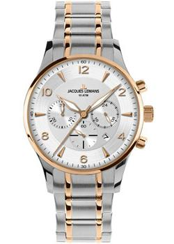 fashion наручные  мужские часы Jacques Lemans 1-1654P. Коллекция London