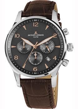 Fashion наручные мужские часы Jacques Lemans 1-1654ZK. Коллекция London фото