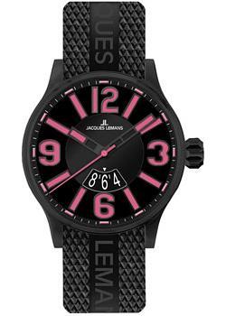fashion наручные  мужские часы Jacques Lemans 1-1673F. Коллекция Sport.