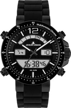 fashion наручные мужские часы Jacques Lemans 1-1712O. Коллекция Sport
