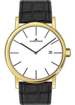 fashion наручные  мужские часы Jacques Lemans 1-1727D. Коллекция Classic.