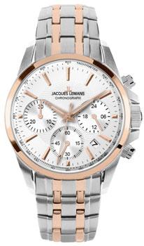 fashion наручные  женские часы Jacques Lemans 1-1752K. Коллекция Liverpool