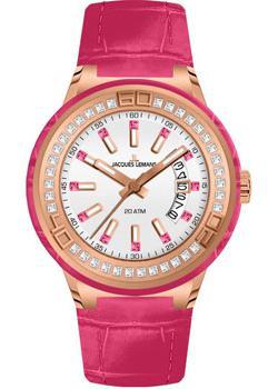 fashion наручные  женские часы Jacques Lemans 1-1776G. Коллекция Miami