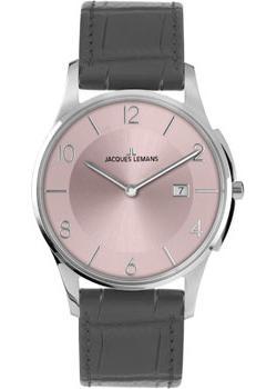 fashion наручные  мужские часы Jacques Lemans 1-1777S. Коллекция London.