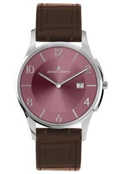 fashion наручные  мужские часы Jacques Lemans 1-1777T. Коллекция London.