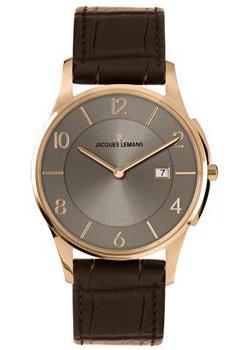 fashion наручные  мужские часы Jacques Lemans 1-1777Y. Коллекция London.