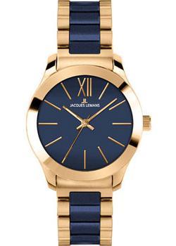 fashion наручные  женские часы Jacques Lemans 1-1796J. Коллекция Rome