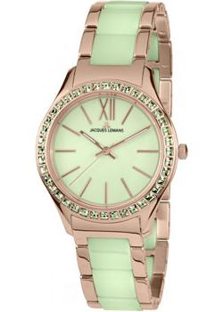fashion наручные  женские часы Jacques Lemans 1-1797N. Коллекция Rome