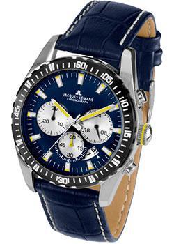 fashion наручные  мужские часы Jacques Lemans 1-1801K. Коллекция Liverpool.