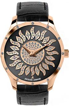 fashion наручные  женские часы Jacques Lemans 1-1803K. Коллекция La Passion