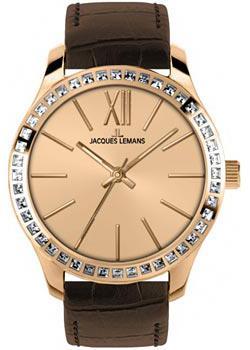 fashion наручные  женские часы Jacques Lemans 1-1841D. Коллекция Rome.