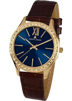 fashion наручные  женские часы Jacques Lemans 1-1841ZA. Коллекция Rome