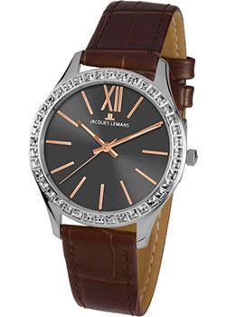 fashion наручные  женские часы Jacques Lemans 1-1841ZF. Коллекция Rome